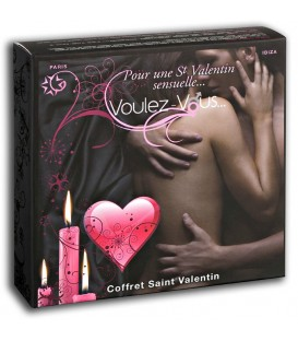 Coffret de massage Saint-Valentin