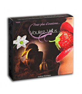 Coffret de massage coquin Fruits Exotiques