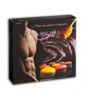 Coffret de massage sensuel Dessert