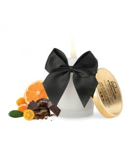 Bougie de massage Chocolat Noir