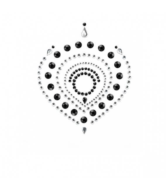 Bijoux de corps 3-pièces Noir Argent
