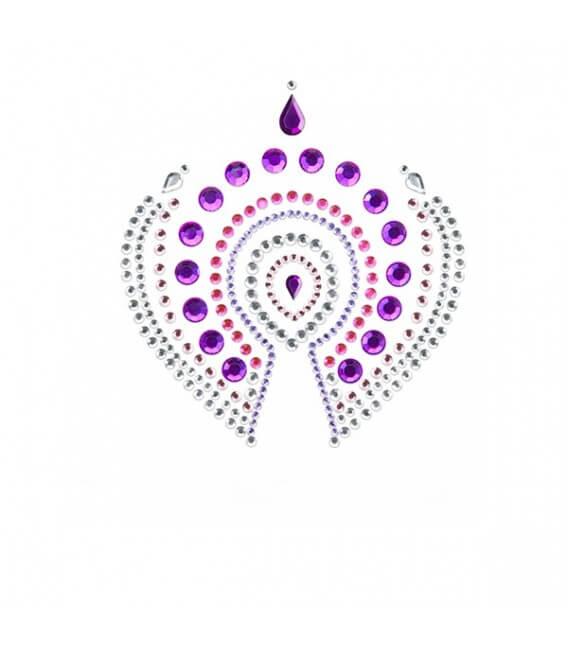 Bijoux de corps 3-pièces Rose Violet