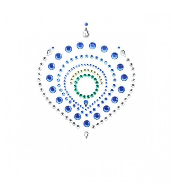 Bijoux de corps 3-pièces Bleu Vert