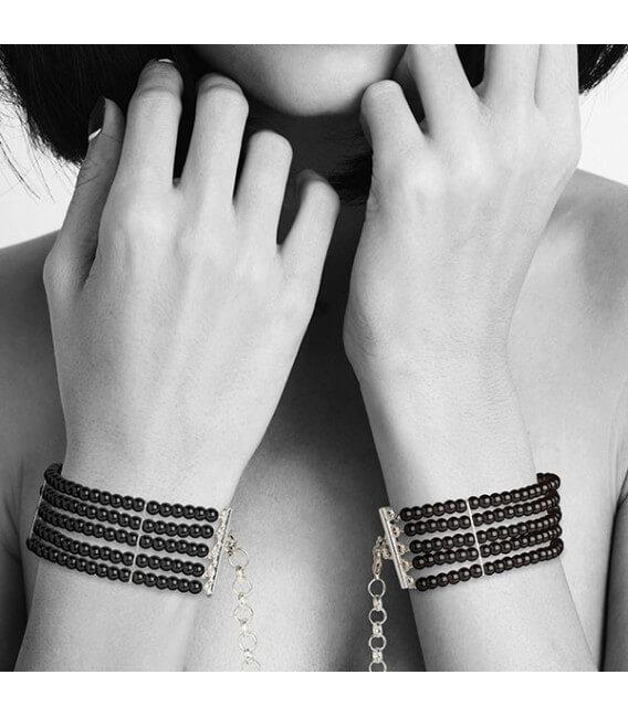 Menottes Bracelets 2-en-1 Noir