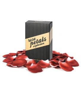 Pétales de rose au parfum aphrodisiaque
