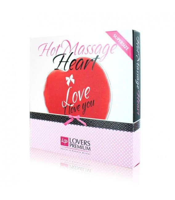 Accessoire massage chauffant cœur