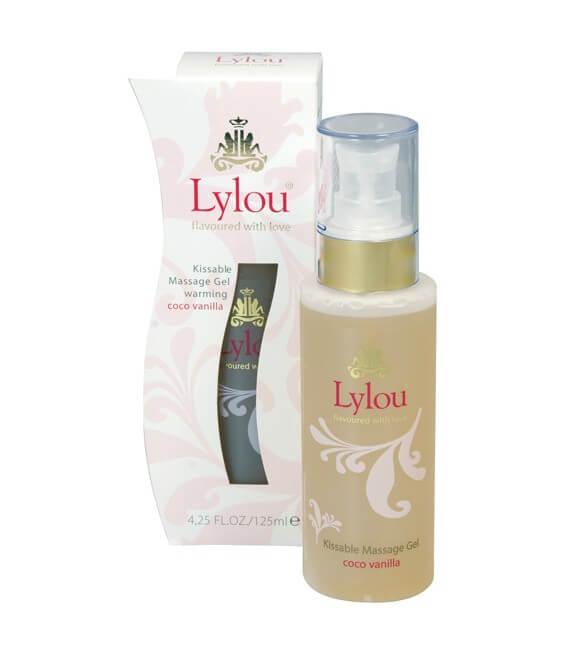 Gel de massage Lubrifiant 2en1 Vanille