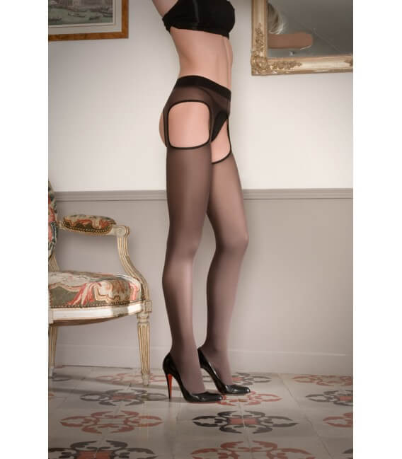 Collant ouvert coquin