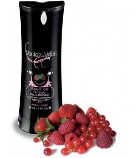 Lubrifiant comestible Fruits Rouges