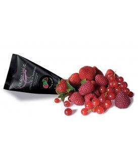 Huile de massage chauffante Fruits Rouges - Format mini