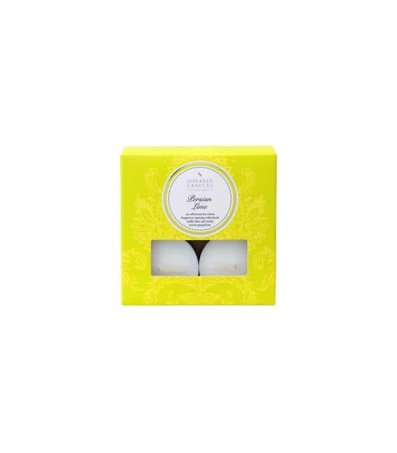 Bougie chauffe-plat Citron