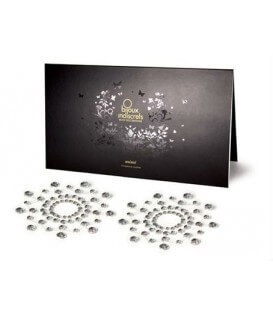 Nippies en strass Argent