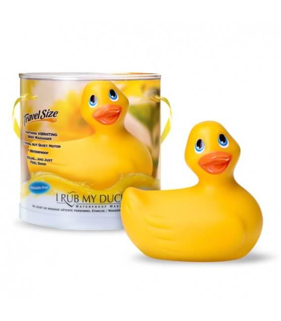 Canard vibrant jaune